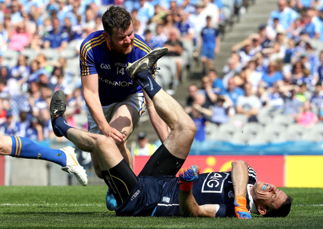 stephen-cluxton-is-fouled-by-james-mcgivney