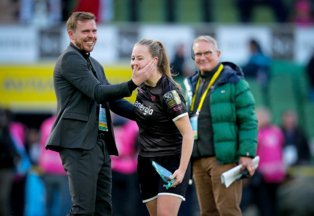 lauren-kelly-celebrates-with-tom-elems-after-the-game
