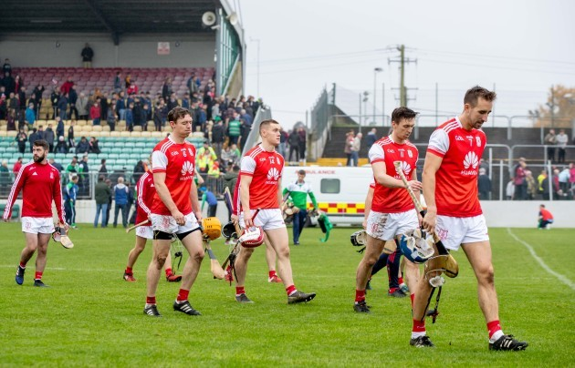 cuala-players-after-the-game-as-an-ambulance-treats-a-member-of-the-st-mullins-backroom-team