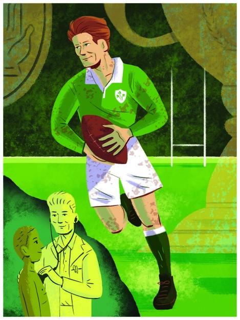 Jack Kyle by Graham Corcoran