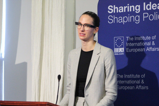 Dr Erin Marie Saltman,  Facebook's Policy Lead for Counterterrorism and Dangerous Organizations , EMEA (1)