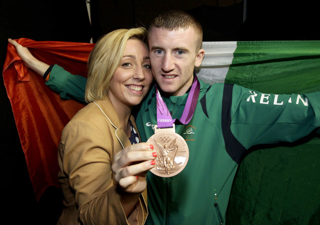 paddy-barnes-and-his-fiance-mari-after-he-received-his-bronze-medal