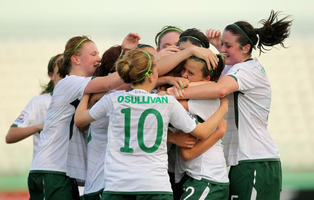 ireland-players-celebrate-a-goal-scored-by-siobhan-killeen