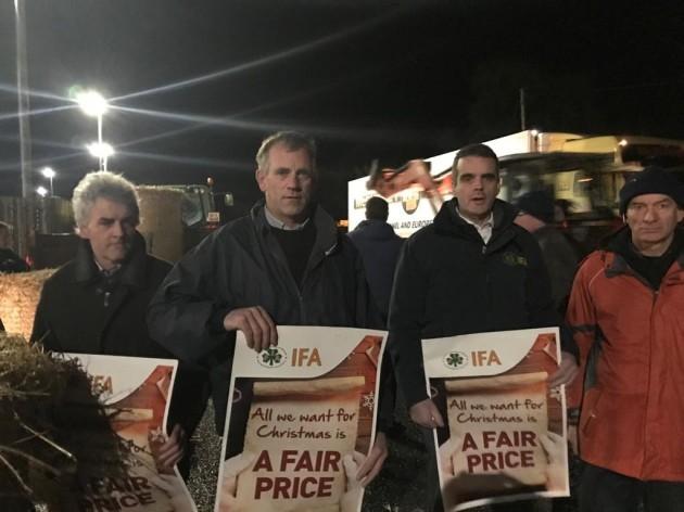 IFA protest Charleville, Cork 06.12.19 (1)
