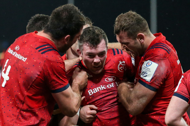 peter-omahony-celebrates-his-try-with-jean-kleyn-and-billy-holland