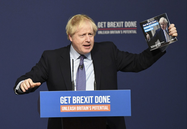 britain-conservative-party-election-manifesto-launch