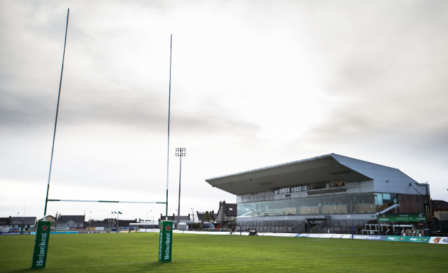 a-general-view-of-the-sportsground-ahead-of-game