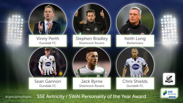 SSE Airtricity - SWAI Personality of the Year Nominees
