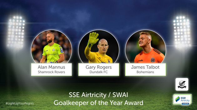 SSE Airtricity -SWAI Goalkeeper of the Year Nominees