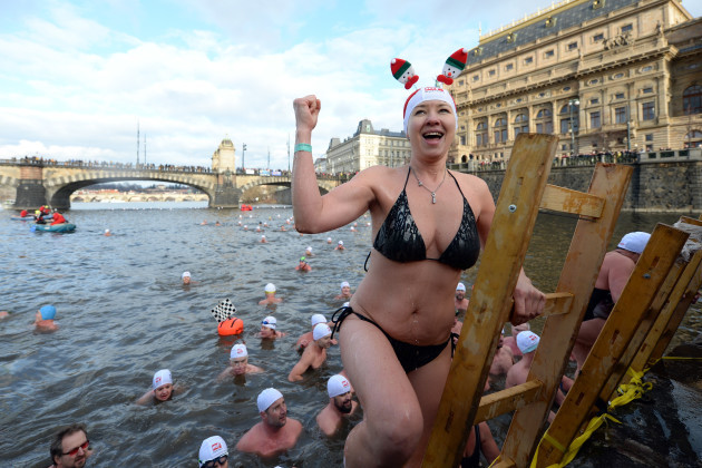 christmas-swim-in-prague-czech-republic
