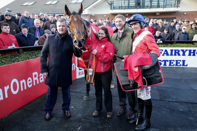 gordon-elliott-and-davy-russell-celebrates-winning-the-race-with-envoi-allen