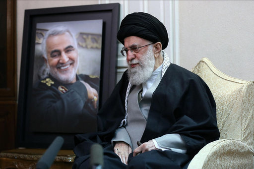 supreme-leader-khamenei-visits-the-soleimani-family