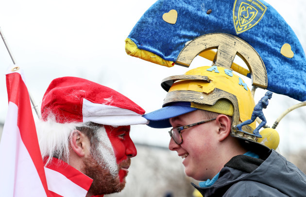 a-clermont-and-an-ulster-fan-outside-stade-marcel-michelin-before-the-game