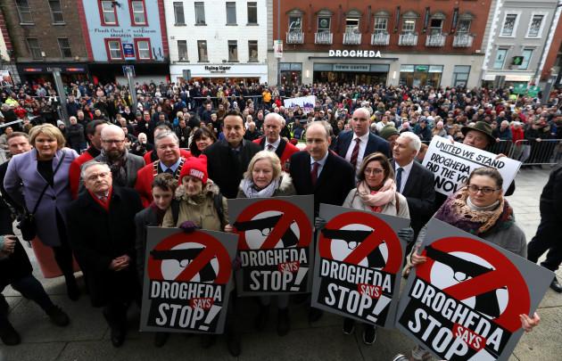 8454 Drogheda Protest
