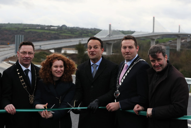 taoiseach-leo-varadkar-opens-rose-fitzgerald-kennedy-bridge