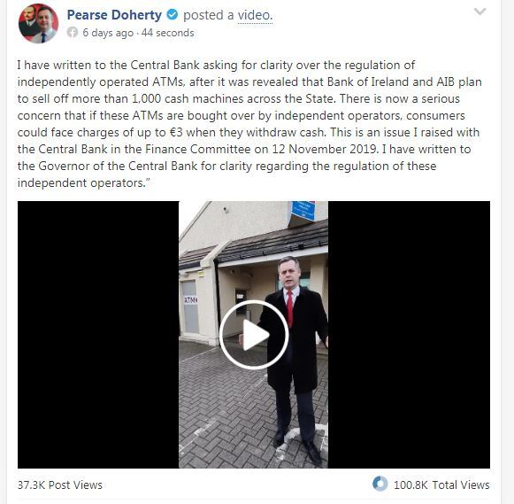 pearse doherty fb