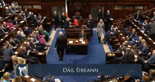 filling up dail