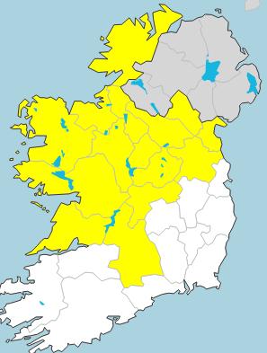 met eireann map