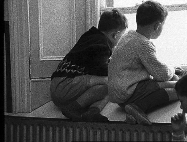 SOF boys at window