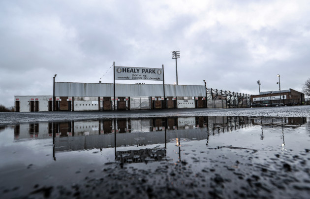 a-general-view-of-the-weather-conditions-at-healy-park