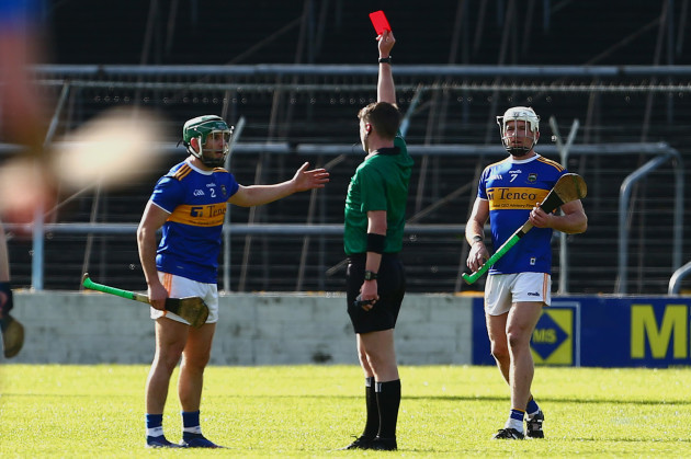 cathal-barrett-is-red-carded-by-sean-stack