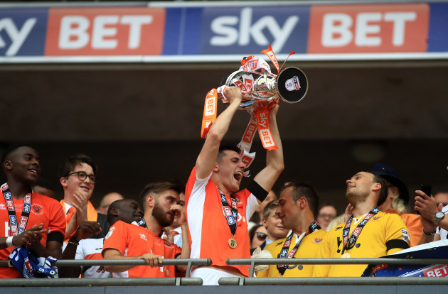 exeter-city-v-blackpool-sky-bet-league-two-play-off-final-wembley-stadium