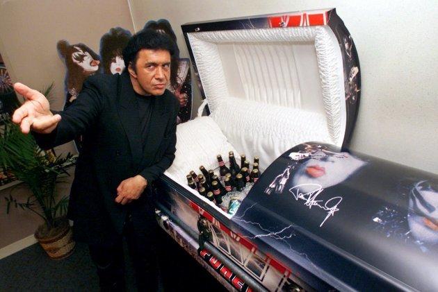 Redd Foxx Funeral Open Casket Heck Of A Mortician