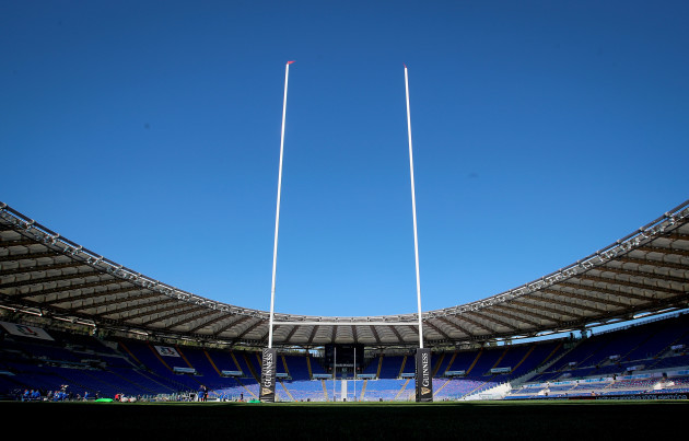 a-general-view-of-stadio-olimpico-ahead-of-the-game
