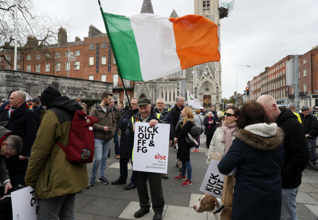 march-calling-for-change-of-government-in-dublin