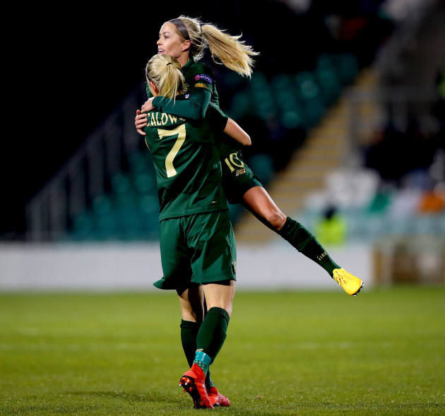 diane-caldwell-celebrates-scoring-the-first-goal-with-denise-osullivan