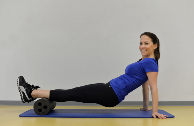 workout-with-a-faszienroll