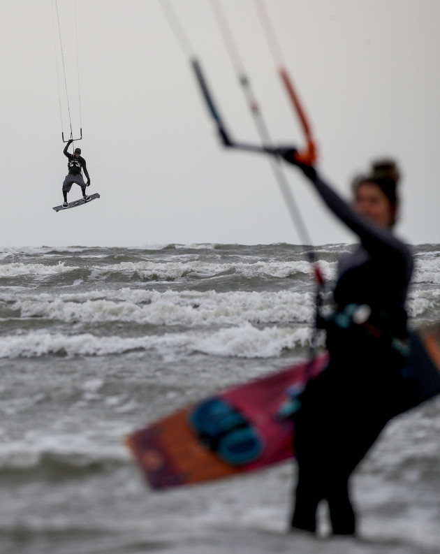 a-view-of-windsurfers-out-at-sea