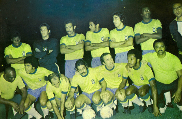 Brazil team 1972