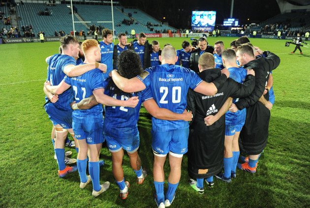 leinster-players-gather-for-a-huddle-after-the-game