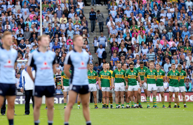 the-kerry-and-dublin-teams-during-the-national-anthem