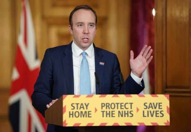 uk-health-secretary-matt-hancock-presser-in-london