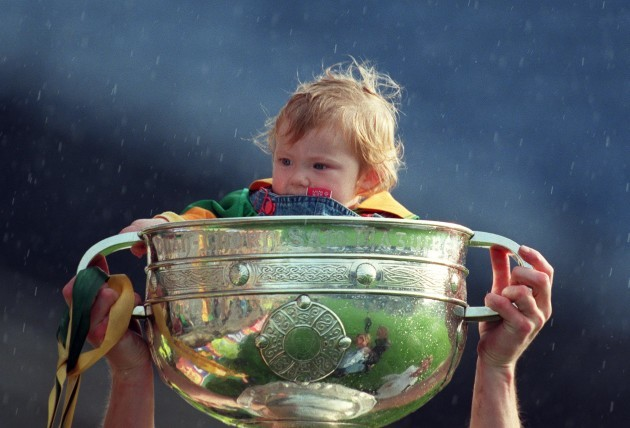 sophia-geraghty-in-the-sam-maguire-cup