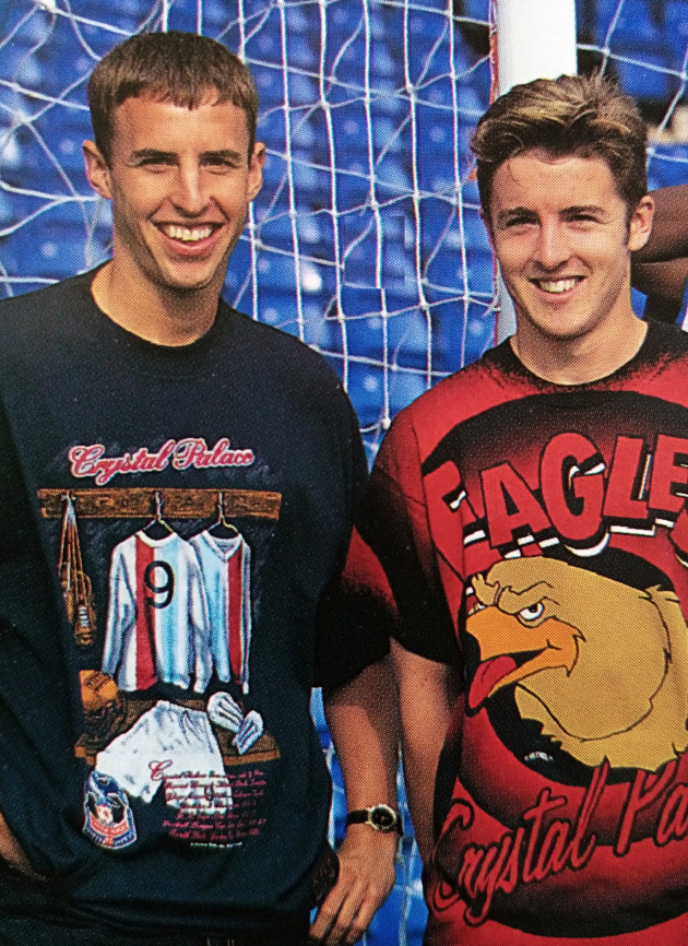 With Gareth Southgate - club merchandise promo