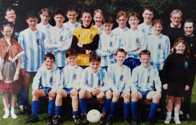 My Salthill Devon u14 team