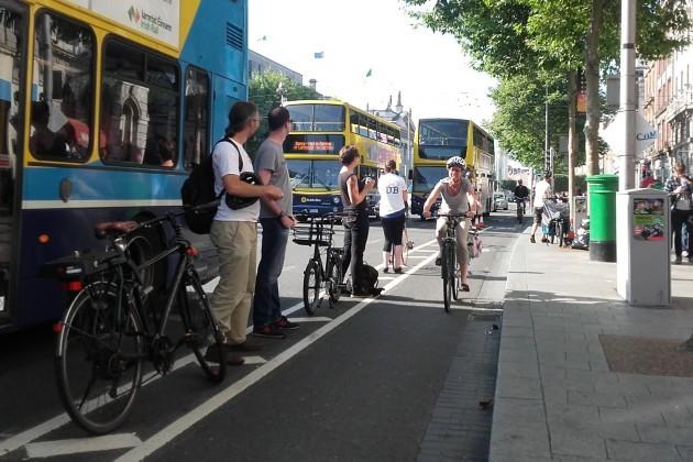 Bike Lane Protection - iBikeDublin