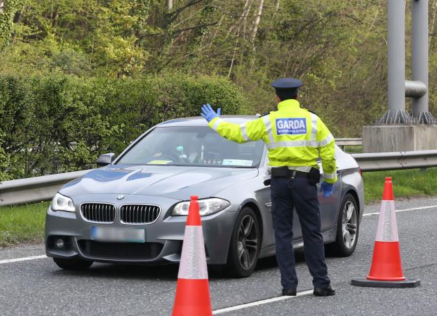 012 Garda Checkpoint