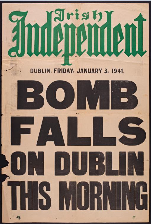 bomb falls