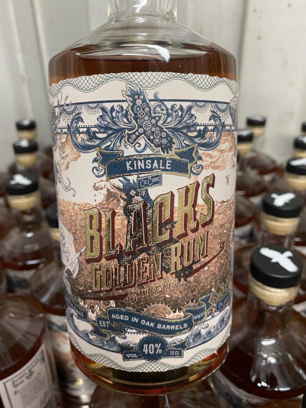 Gold Award Winner at World Rum Awards - Blacks Golden Rum