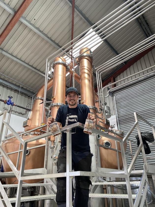 Sam Black, Founder of Blacks Brewery & Distillery Celebrates Gold Win at World Rum Awards