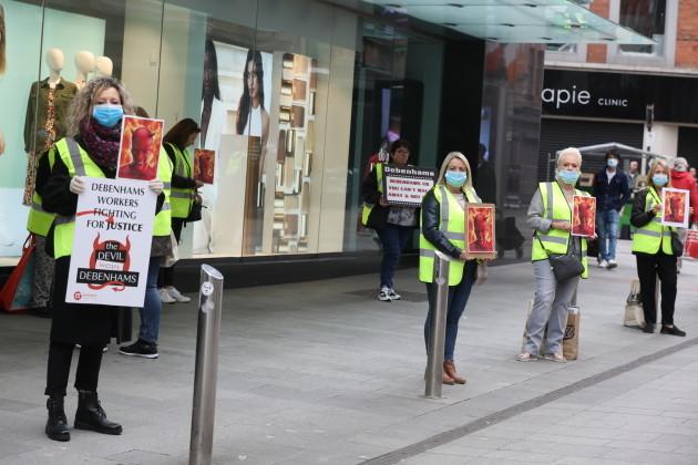 003 Debenhams Protest