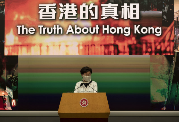 chief-executive-carrie-lam-cheng-yuet-ngor-speaks-in-hong-kong-china-15-may-2020