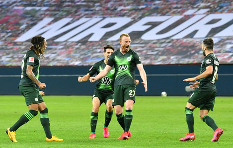 firo-football-26-05-2020-1-bundesliga-season-1920-20192020-28th-matchday-bayer-04-leverkusen-vfl-wolfsburg