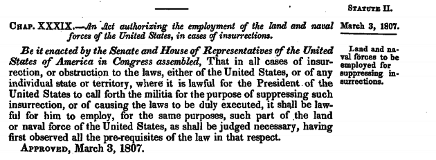 Explainer: The 213-year-old law Trump may invoke to deploy ...