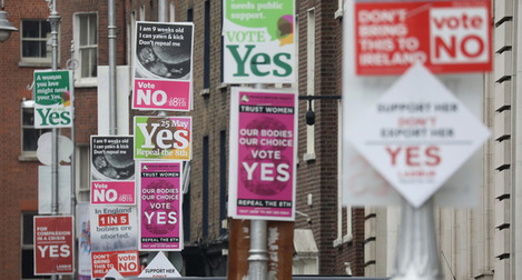 ABORTION REFERENDUM POSTERS II2A2881