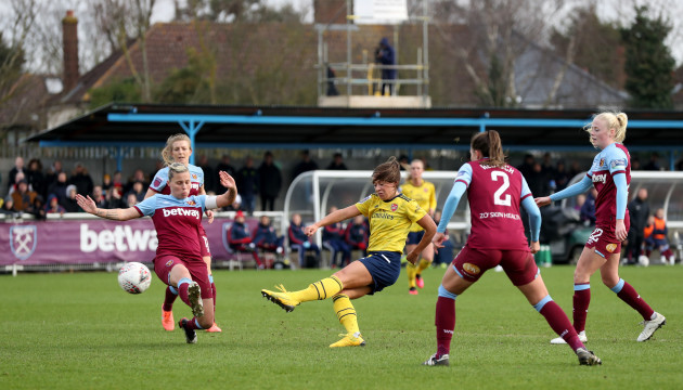 west-ham-united-v-arsenal-womens-fa-cup-fourth-round-rush-green-stadium